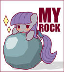 Maud finds a Rock