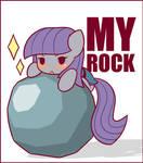 Maud finds a Rock