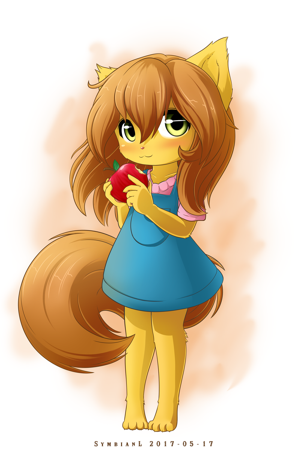 Fox Girl Drawing Concept Fox Girl by Sy...