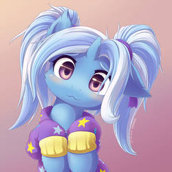 Shy Trixie Babysitter