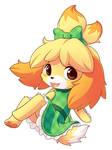 Green Dress Isabelle