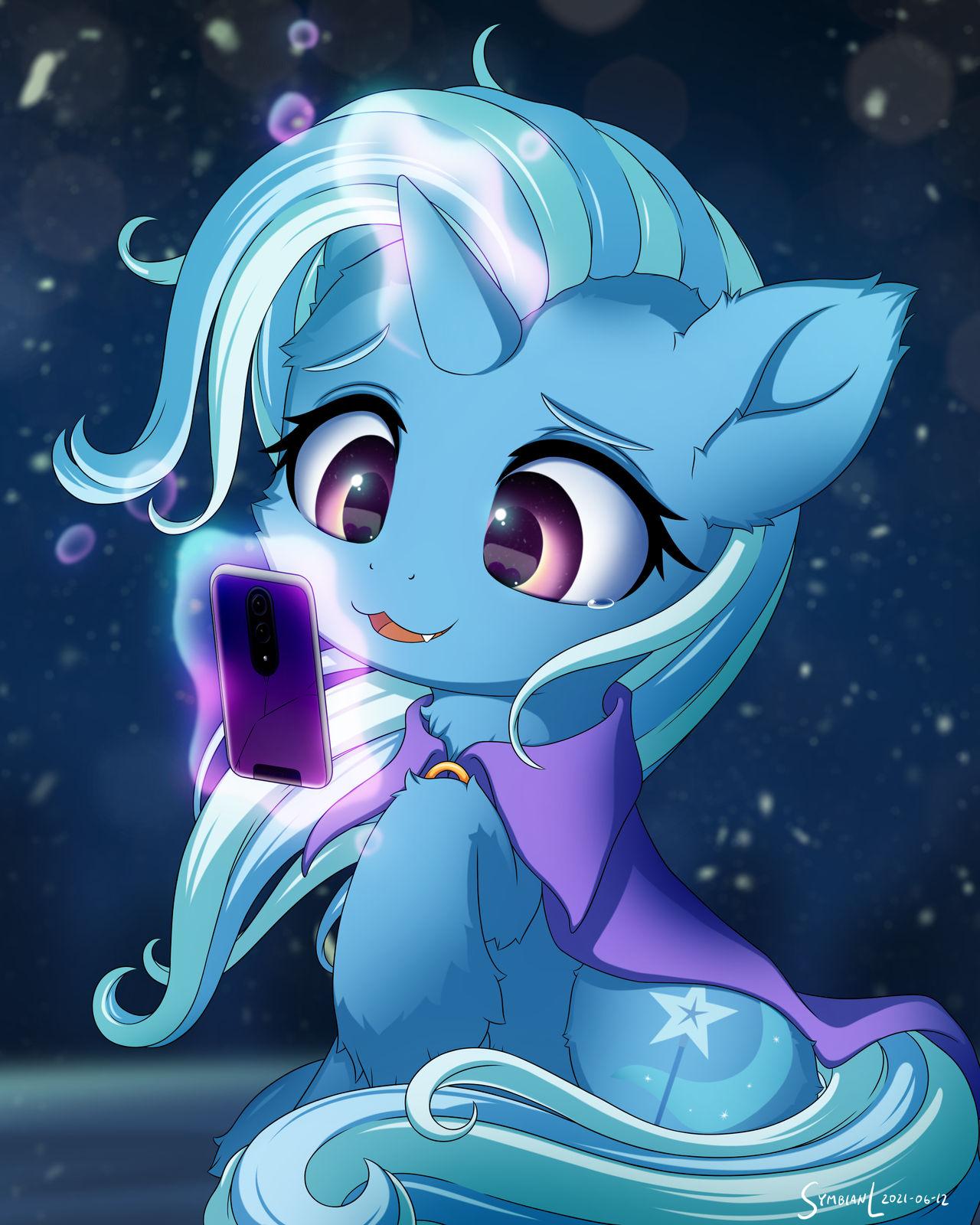 Trixie Sends a Message