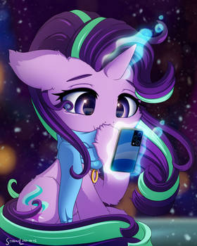 Starlight receives a Message