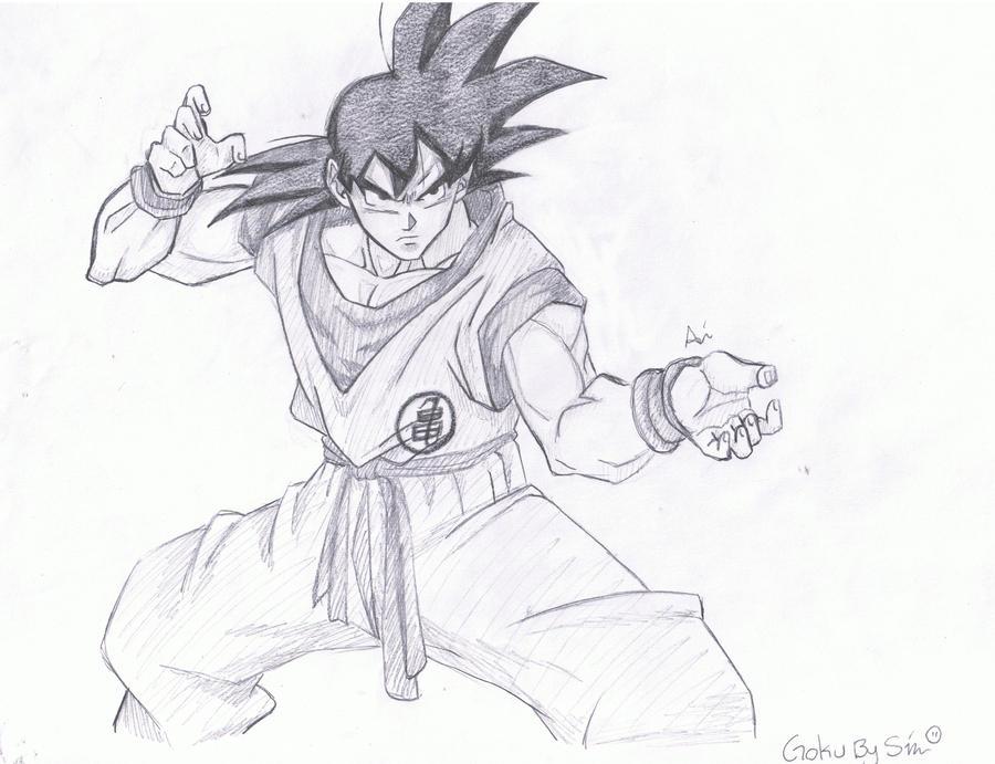 Goku by Socij