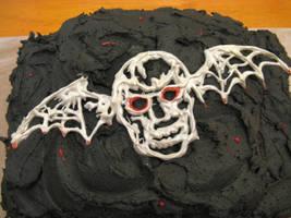 Niece's 18th Birthday Cake, Avenged Sevenfold by doilydeas