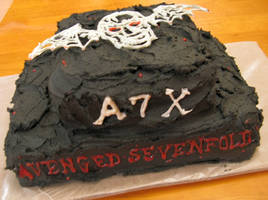 Front side of the cake... by doilydeas