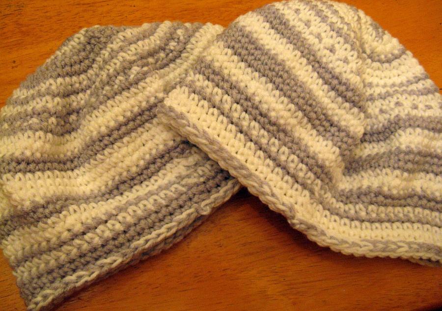 Free Crochet Pattern For Skull Hat : Free Crochet Hat Pattern (Skull cap, Beanie) by doilydeas ...