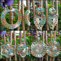 Crochet earrings... by doilydeas