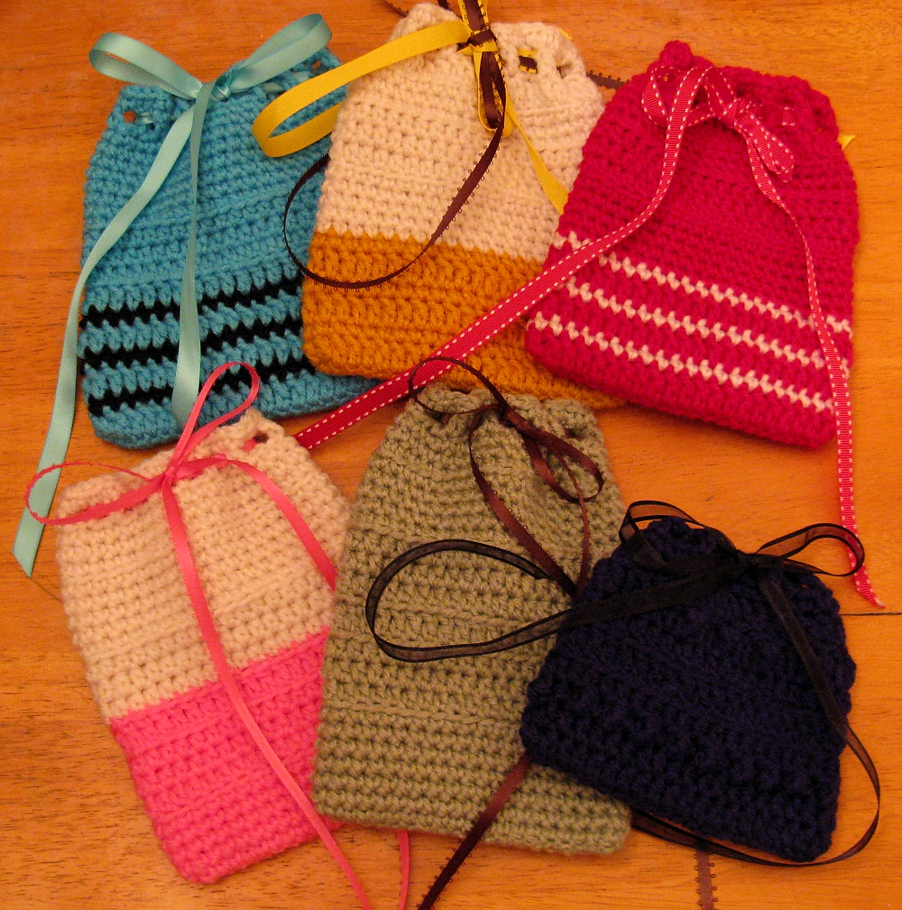 Crochet tarot card bags for one of my friends... by ...