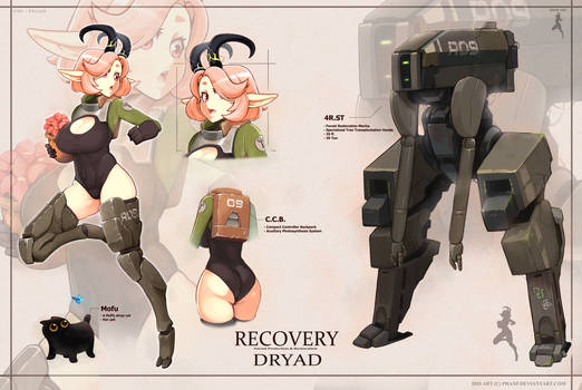 Adopt #46 - Recovery Dryad (CLOSED)