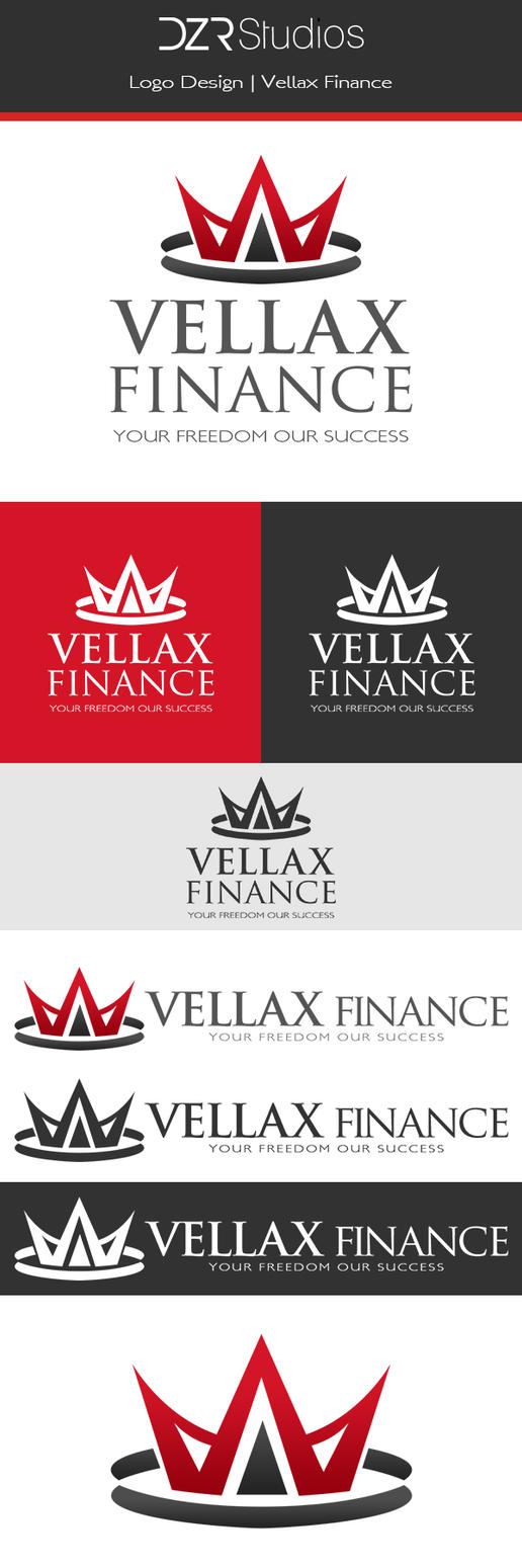 Vellax Finance Logo by dronzer92