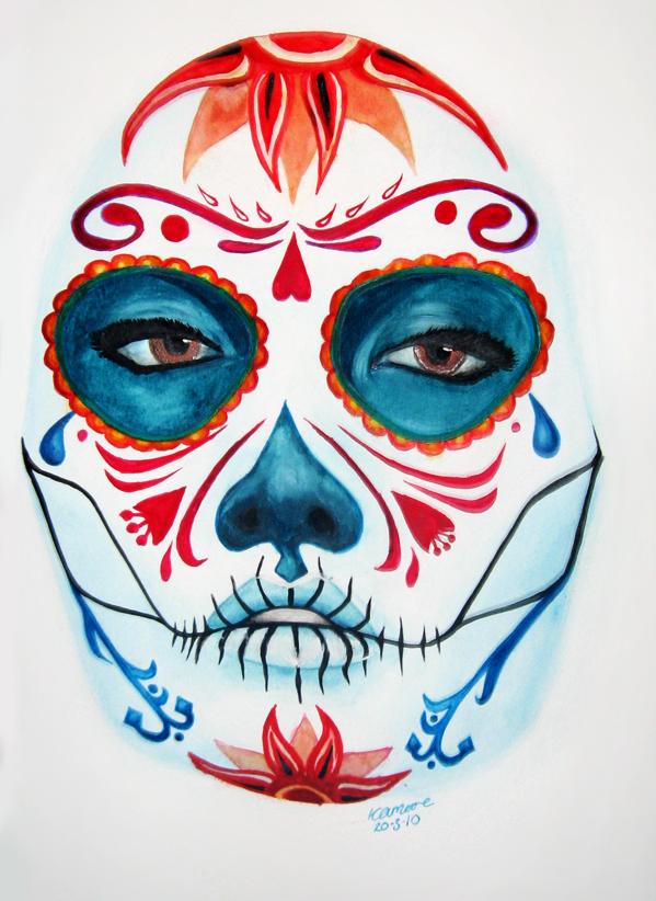 Sugar Skull by elethoniel