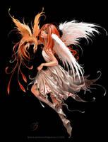 Dark angel by Black-Sapphire09