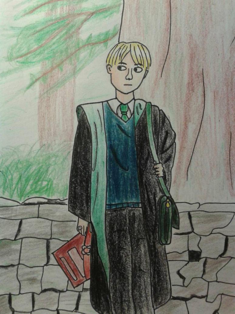 Draco Malfoy by AuroraWinterFairy