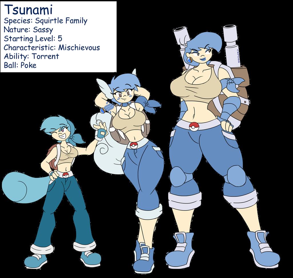 Tsunami Evolution By DracoDragite On DeviantArt
