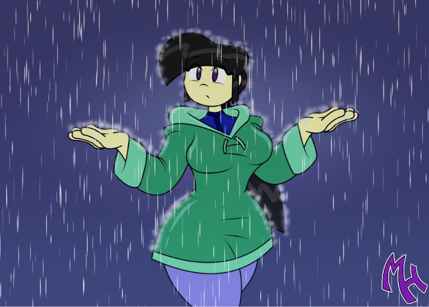 Rain Test by DracoDragite