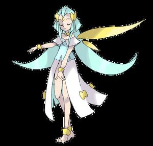 Pokemon priestress
