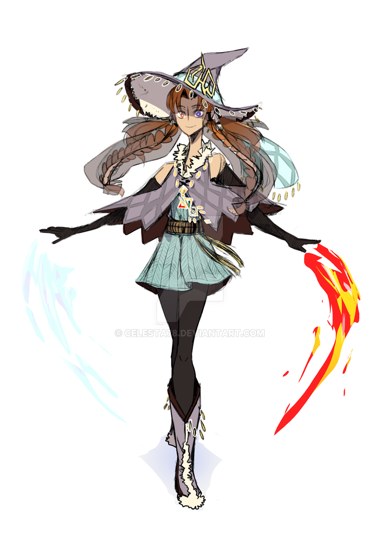 Fire And Ice Witch