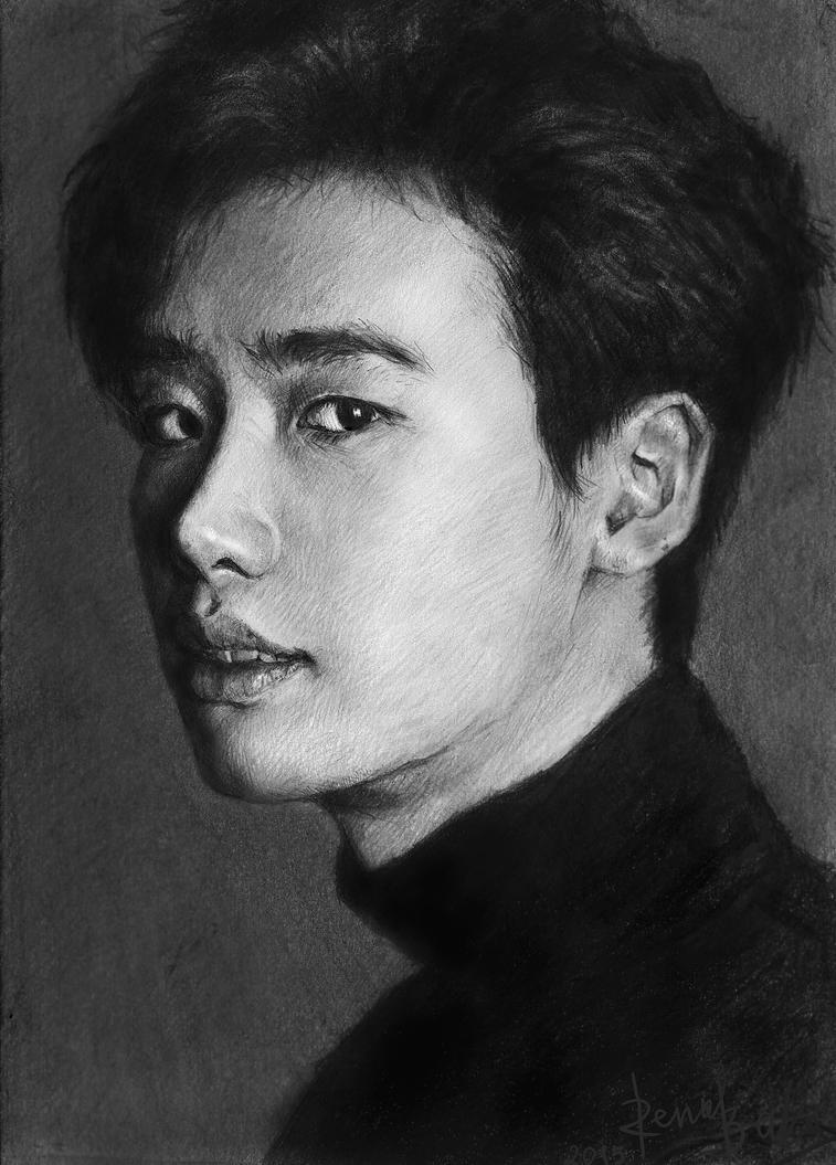 Lee Jong Suk by Rena-baka
