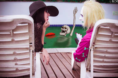 Beetlejuice distracting Lydia by LaisAbove