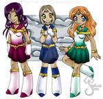 Senshi Team: DR, GN, SS