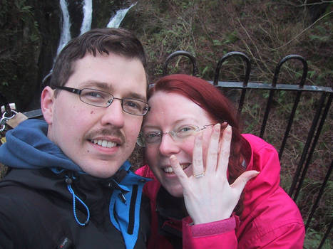 Eeeeeeeeeeeeeeeeeeeeeeek! I got engaged!