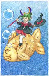 Pastry Fish by ssjessiechan