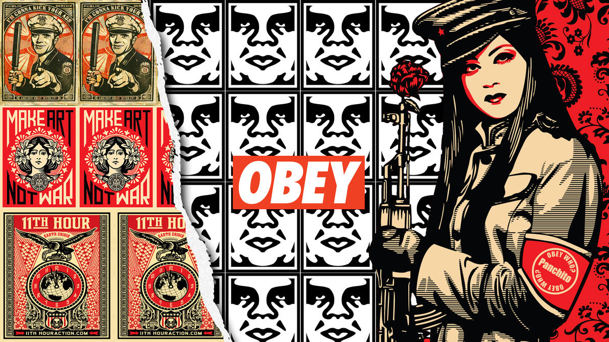 Wallpaper Obey Giant Obey Wallpaper