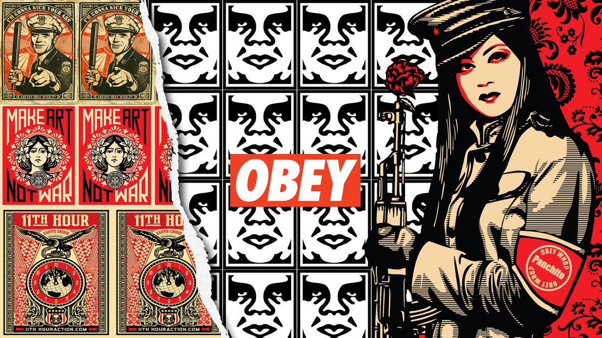 Wallpaper Obey Giant Obey Wallpaper