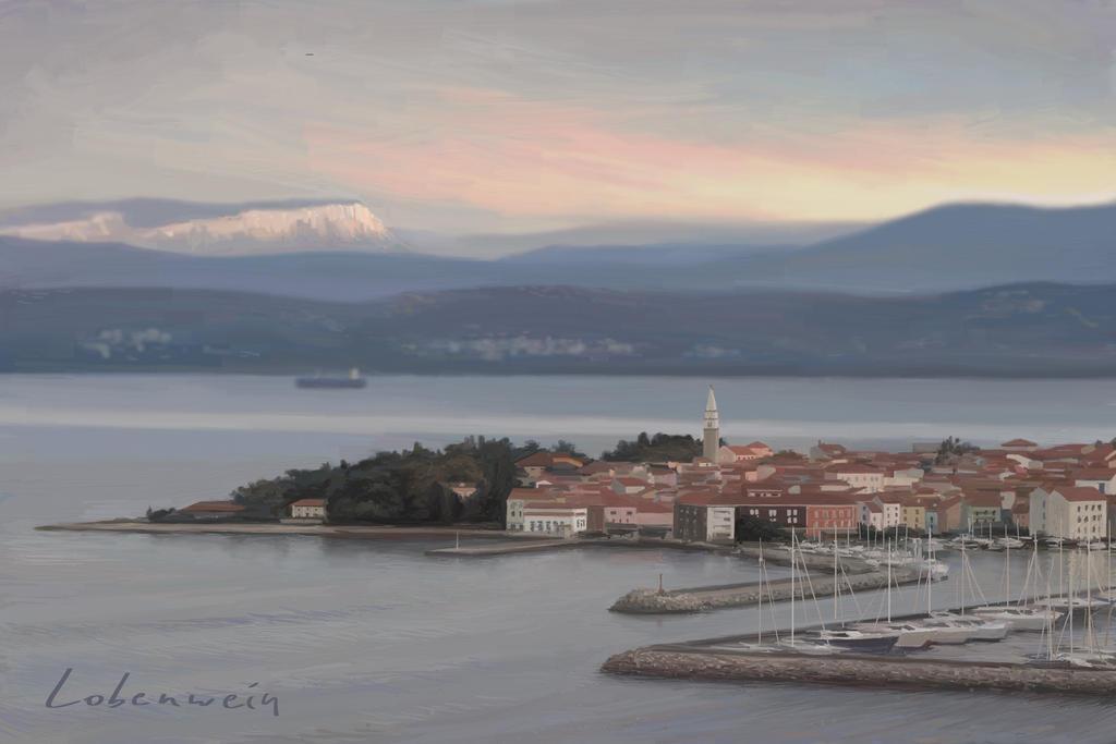 Izola - digital painting by RLoben