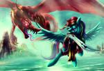 Epic Battle. by zilvart