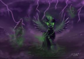 Princess Of Darkness by zilvart