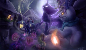 Tentabus Nightmare by zilvart