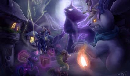 Tentabus Nightmare by zilvart