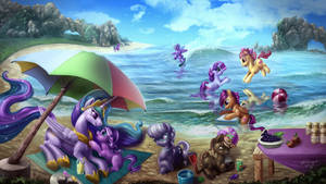 pony Beach Party
