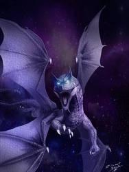 Galaxy dragon by zilvart