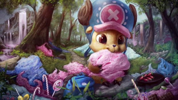 Chopper in Candyland