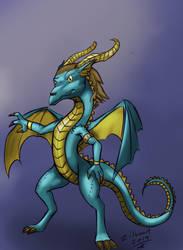 Anton the swedish dragon.