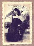 Mujer alegre 1900