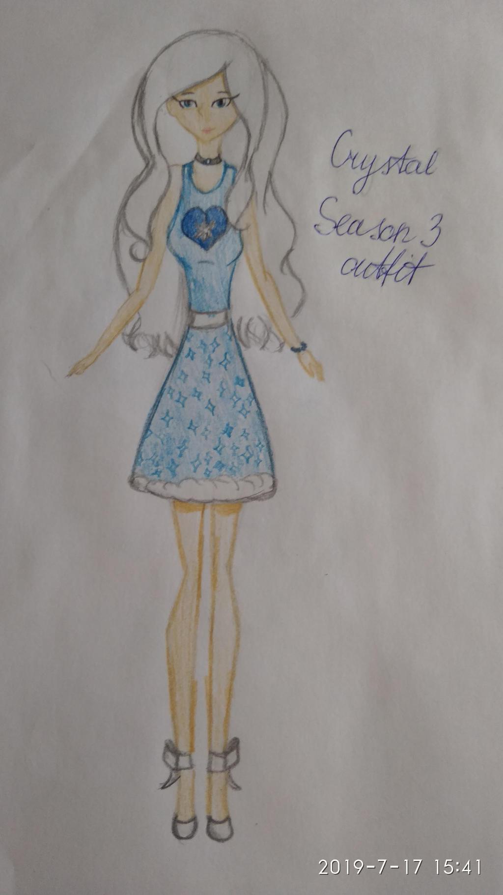 Crystal Season 3 outfit (Winx Club OC) by SimonaAlex on DeviantArt
