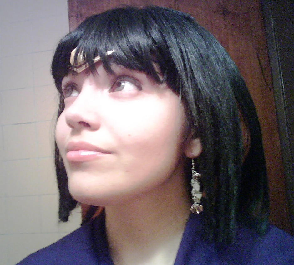 Sailor saturn test! by Yosisakura