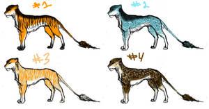 Feline Adopts Batch #1 - 4/4 OPEN