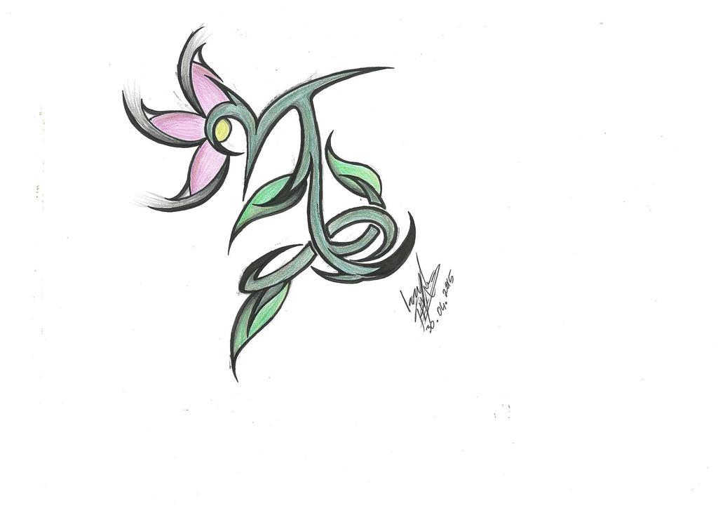 Capricorn Tattoo Design Female