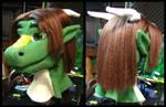 Dragon Fursuit Head