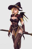 Witch Mercy by Okami49