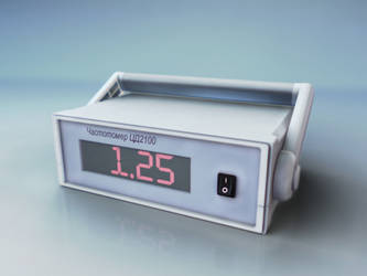 Digital panel meters CD2100 Front by MADFox-prod