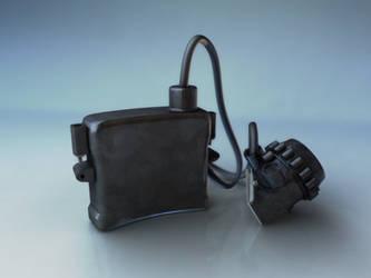 Mine equipment Head lamp Sgg 9 Back