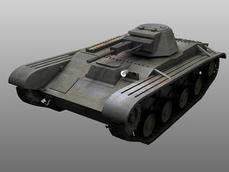 Tank T-60 front