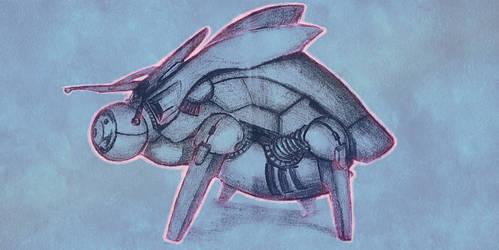 Battle drone Beetle M62