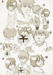 Ichiruki sketch...again (Part 1) by lylyn19937